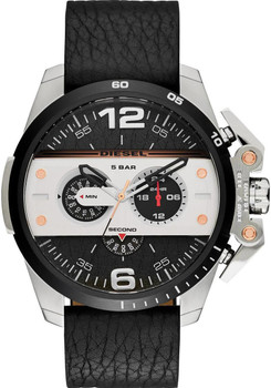 Diesel Ironside Chronograph Leather Black