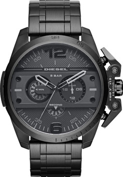 Diesel Ironside Chronograph All Black