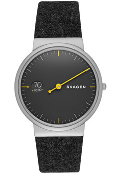 Skagen Ancher Mono Felt Watch Black SKW6199