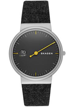 Skagen Ancher Mono Felt Watch Black SKW6199