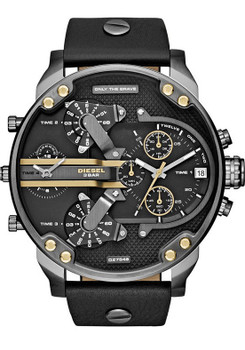 Diesel DZ7348 Mr. Daddy 2.0 Leather Black/Gun