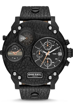 Diesel DZ7354 Mr. Daddy Biker Leather Black -Limited Edition