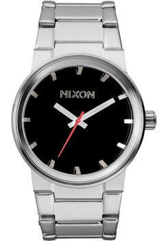 Nixon Cannon Stainless Steel Black
