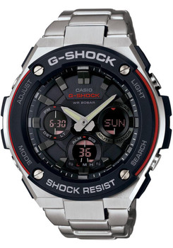 G-Shock G-Steel Solar Worldtime Steel Black