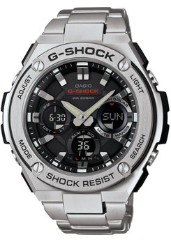 G-Shock G-Steel Solar Worldtime Steel Silver