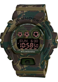G-Shock Camouflage Limited Color Series Army Green