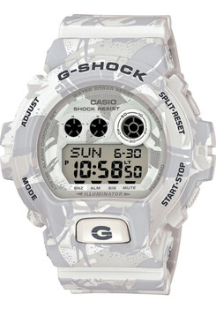 G-Shock Camouflage Limited Color Series White/Gray
