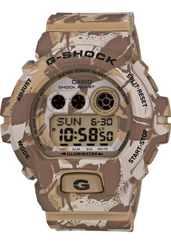 G-Shock Camouflage Limited Color Series Desert Brown/Tan