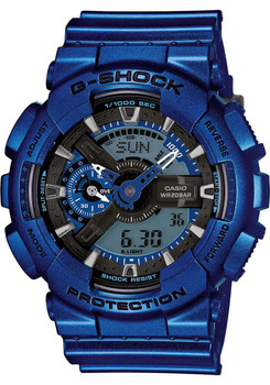 G-Shock Analog Digital Metallic Blue