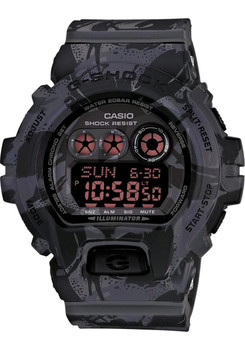 G-Shock Camouflage Limited Color Series Black/Red