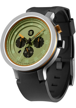 Minus-8 Layer 24 Silver Olive Green Automatic