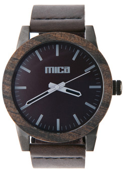 Mica Morris Sable Wood Watch