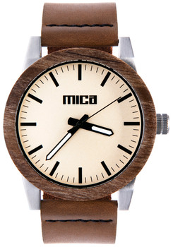 Mica Morris Kodiak Wood Watch
