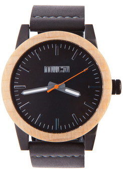 Mica Morris Blonde Wood Watch