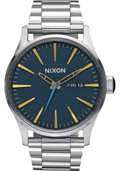 Nixon Sentry SS Navy/Brass/Steel (A3562076)