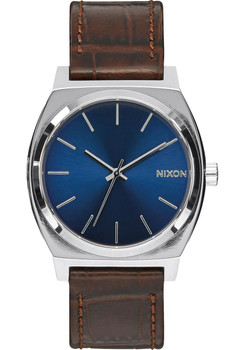 Nixon Time Teller Gator Leather Brown