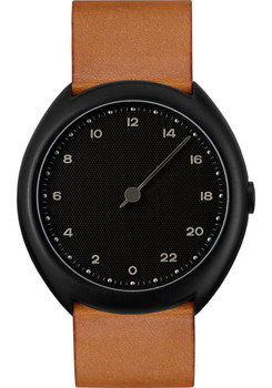 Slow O 11 24 Hour One Hand Vintage Leather Black