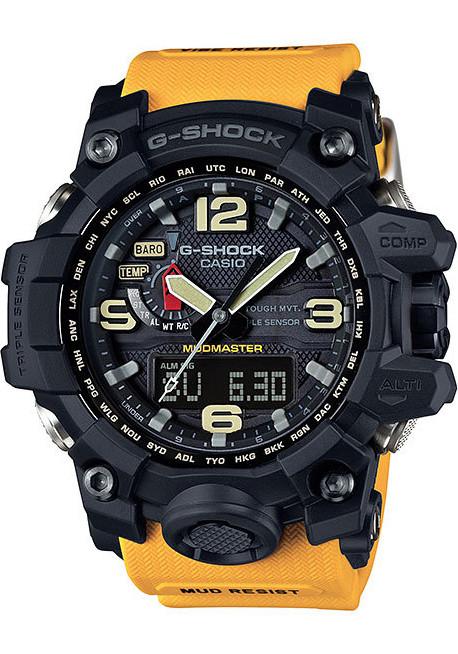 G-Shock Mudmaster Atomic Solar Yellow