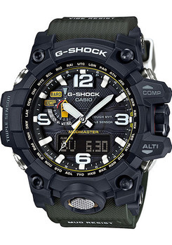 G-Shock Mudmaster Atomic Solar Army Green