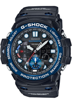 G-Shock Gulfmaster Black & Blue - LIMITED EDITION