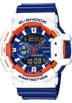 G-Shock GA-400 Special Edition Orange/White/Blue