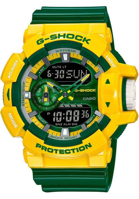 G Shock GA 400 Special Edition YellowGreen Watchescom