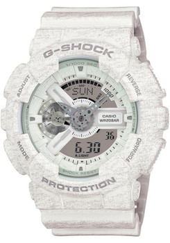 G-Shock XL Special Edition Heather White