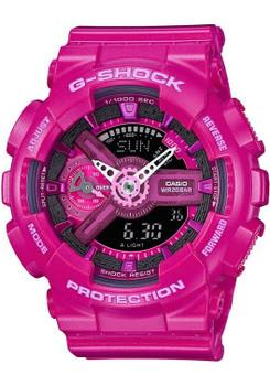 G-Shock S-Series GMAS-110MP Hot Pink