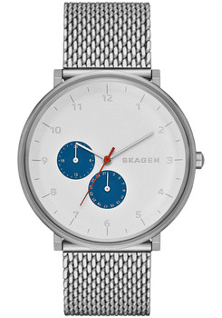 Skagen Hald Steel Mesh Watch Blue/White SKW6187