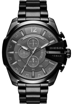 Diesel Mega Chief Chronograph Black