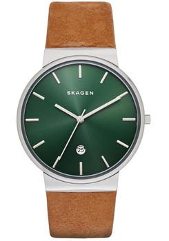 Skagen SKW6183 Ancher Leather Tan/Green
