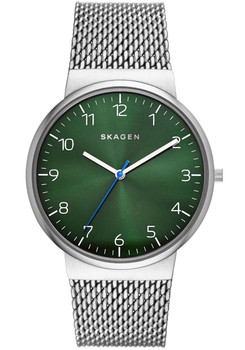 Skagen SKW6184 Ancher Steel Mesh/Green