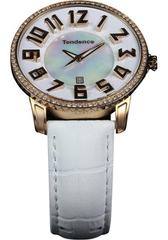 Tendence Ladies Slim Rose Gold/Mother of Pearl