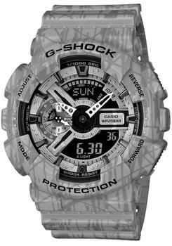 G-Shock Slash GA-110SL-8A Grey - LIMITED EDITION