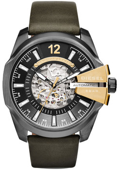 Diesel DZ4379 Chief Gunmetal Leather Automatic