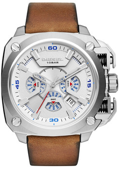 Diesel DZ7357 BAMF Leather Chronograph Brown