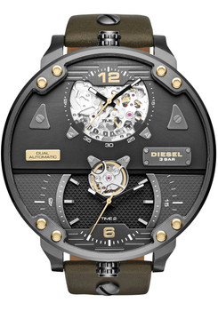 Diesel DZ7365 Double Automatic Leather Limited Edition