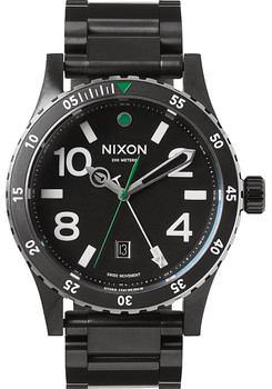 Nixon Diplomat SS Black/Silver/Green