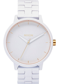 Nixon Kensington All White/Gold