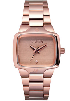 Nixon Small Player Rose Gold