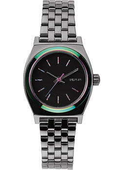 Nixon Small Time Teller Gunmetal/Multi