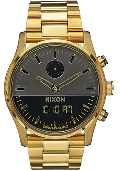Nixon Duo Gunmetal/Gold