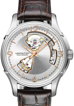 Hamilton JazzMaster Open Heart Steel/Gold Skeleton Automatic