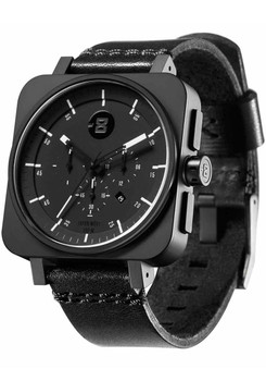 Minus-8 Square Chrono Black Black