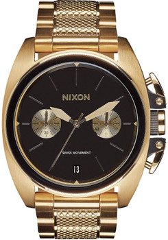 Nixon Anthem Chrono Gold Black