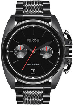 Nixon Anthem Chrono All Black