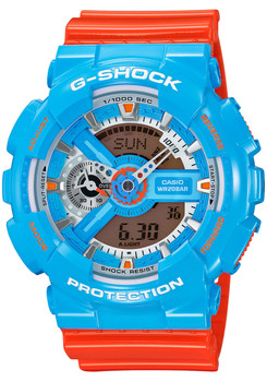 G-Shock GA-110NC-2A Orange/Blue