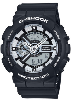 G-Shock GA-110BW-1A Black/White Series