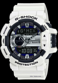 G-Shock GBA-400-7 G-Mix White