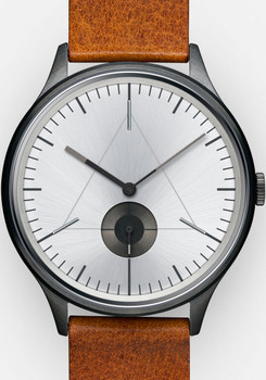 Cronometrics Architect L16 Gunmetal Brown Leather